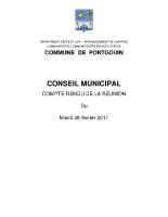 CR CM 28 Février 2017